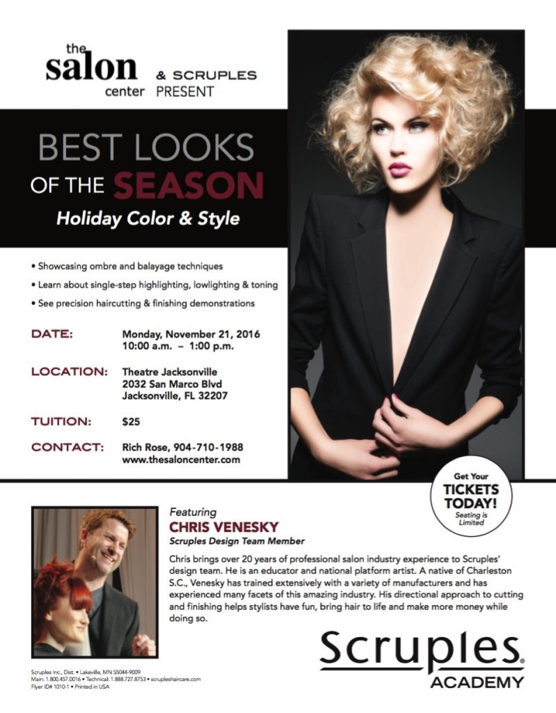 Chris Venesky Jacksonville Hair Show