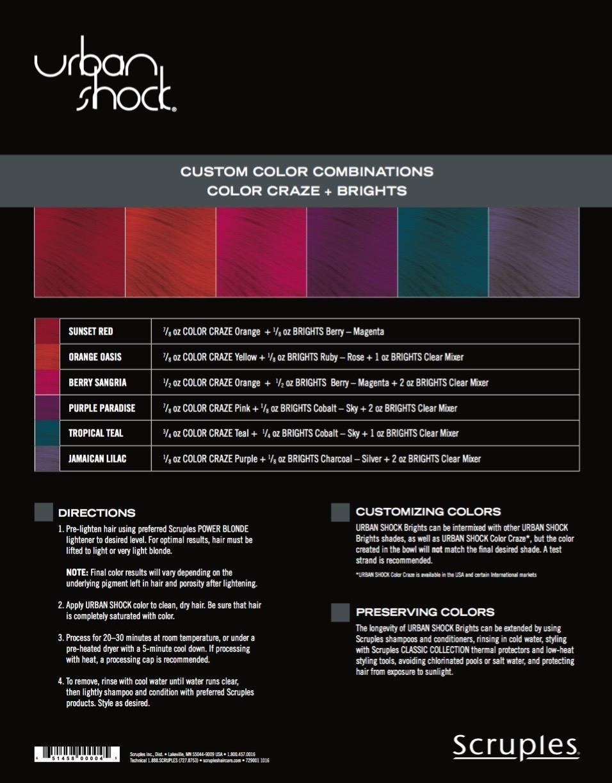 Scruples urban shock brights long lasting fashion colors taming scruples urban shock brights nvjuhfo Choice Image