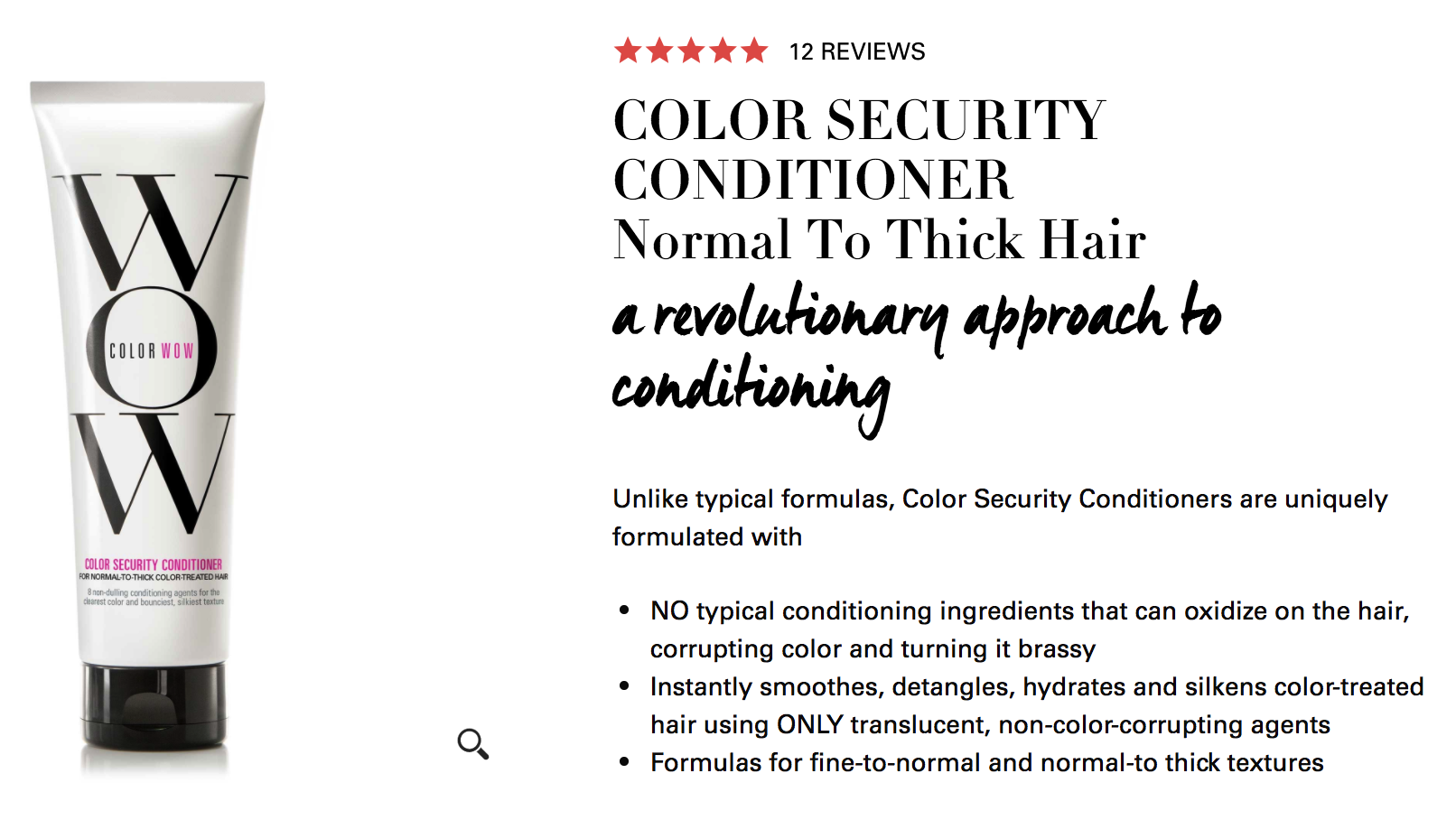 Color Wow Color Security Conditioner